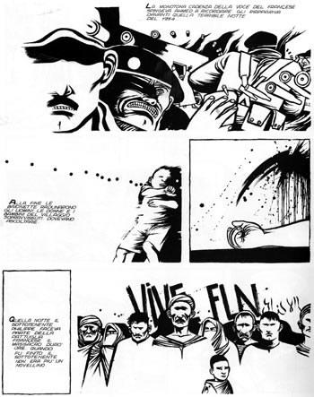 Breccia's page 4 of Algeria