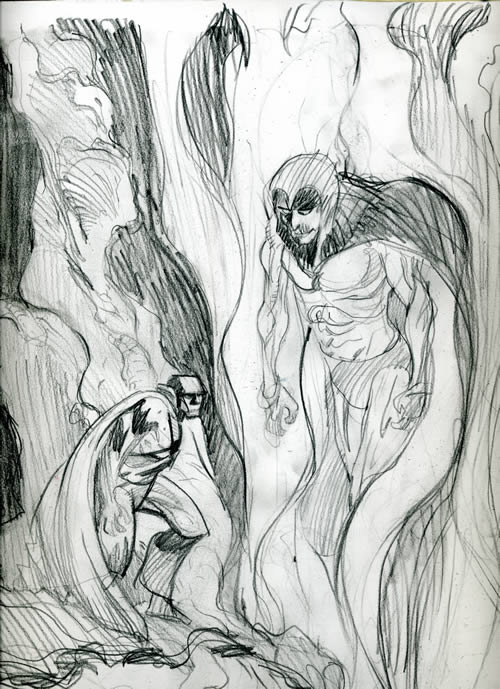 Spectre and Martian Manhunter